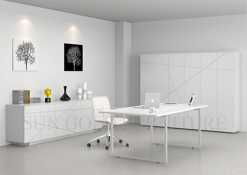 le minimalisme moderne blanc brillant haute bureau sz od168 table en bois id de produit. Black Bedroom Furniture Sets. Home Design Ideas