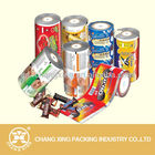 logo printing OPP/CPP, PET/PE laminted film by roll for snack packaging