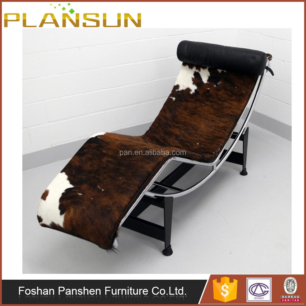 réplique meubles le corbusier vache en cuir chaise longue lc4 ... - Chaise Longue Le Corbusier Vache