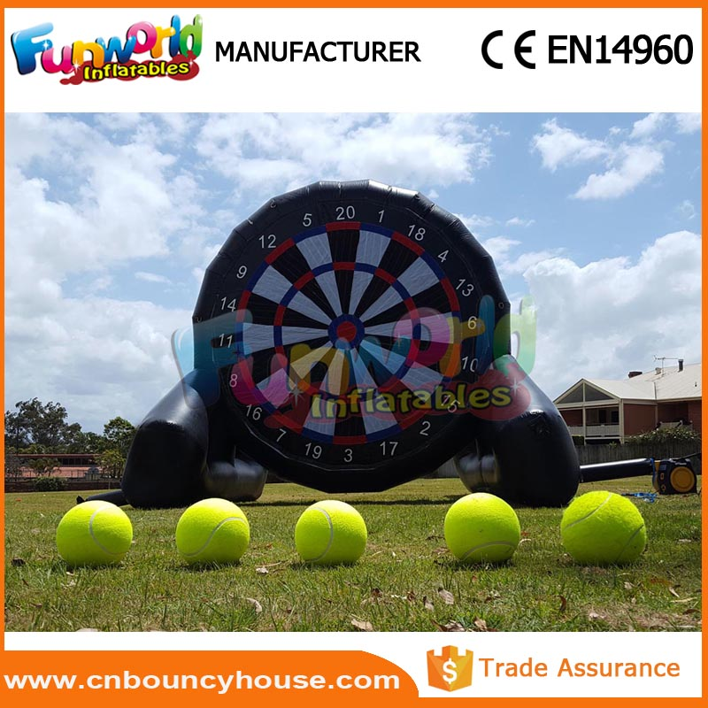 Inflatable dartboard football soccer dart inflatable soccer darts