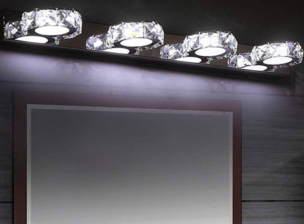 UZI-Modern minimalist bathroom mirror lights, bathroom mirror cabinet light, creative toilet waterproof mirror lights