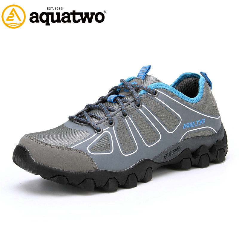 2014 Aqua Two New Wholesale Customize Stylish Power Hiking Shoes ...