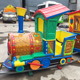 Factory Price Direct Selling kids game park and playground mini track train for sale