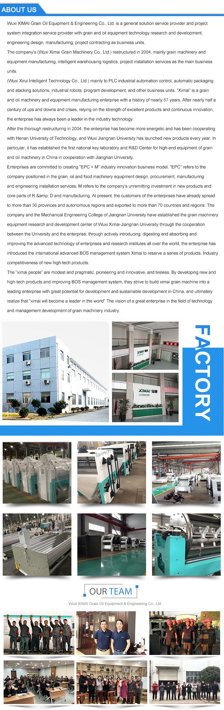 Heißer verkauf automatische weizenmehl fräsen maschine/FFPD serie horizontale weizen kleie finisher maschine