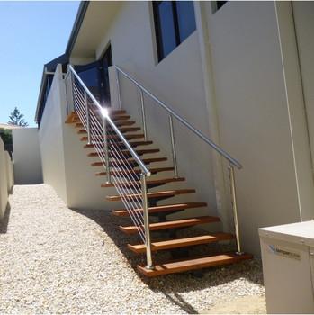 stahltreppe fur innen und aussen designs, außen metall treppe kohlenstoffstahl schritte gerade treppe design, Design ideen