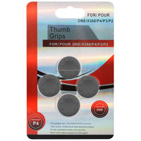Gray Silicon Analog Thumb Grip Set Thumbstick Cap Cover For Xbox ...