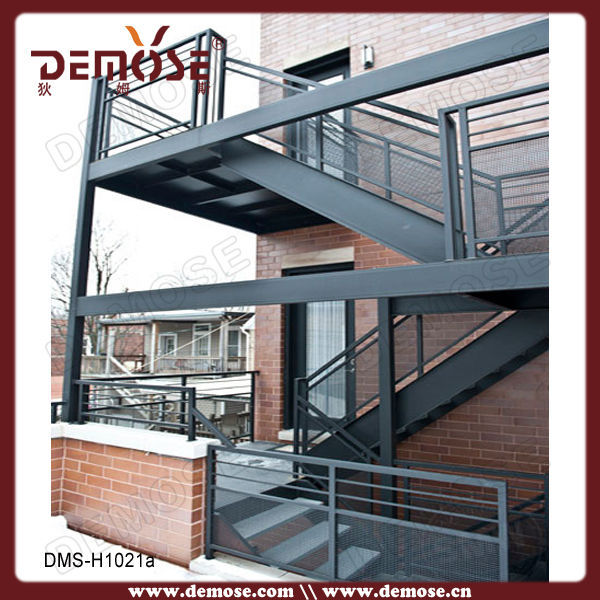 Outdoor spiral staircase prices wrought iron stairs - Exterior metal spiral staircase cost ...