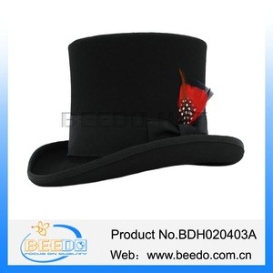 Wool Victorian Top Hat Wholesale 102924d07d75