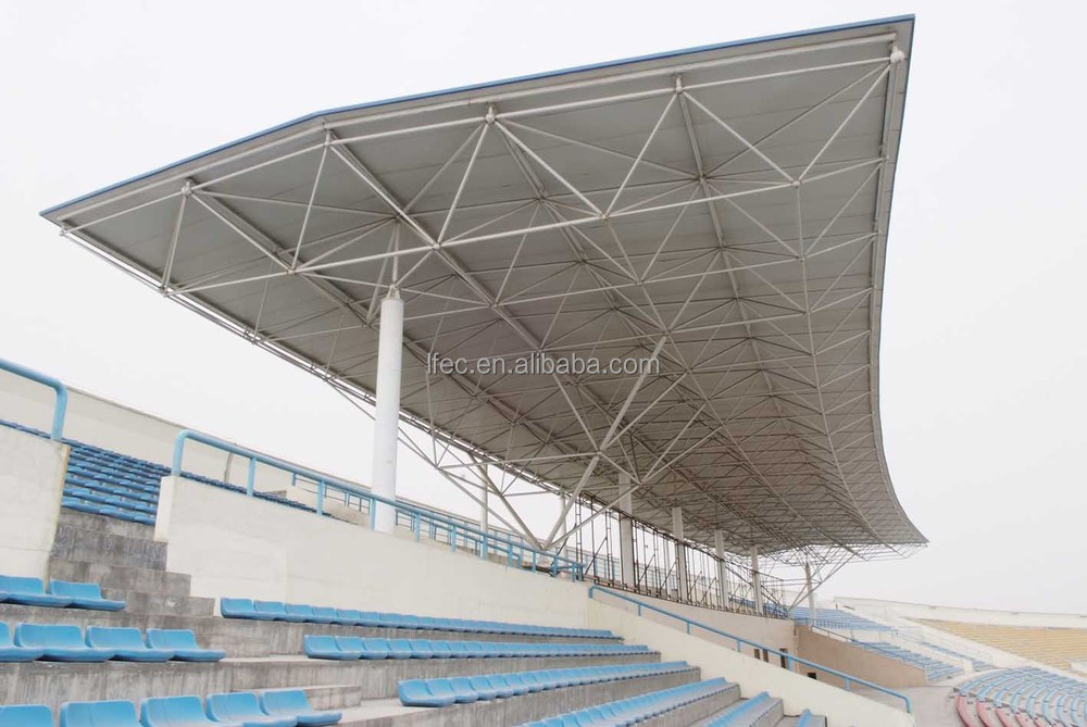 practical design prefabricated light steel structure bleacher tent for sale