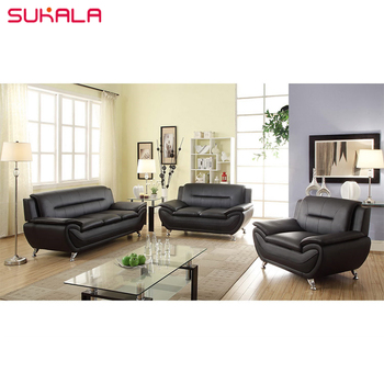 Wondrous Buy Contemporary Living Room Sectional Furniture Black Leather Sofa And Couch Set Buy Black Sofa Black Leather Sofa Black Couch Set Product On Onthecornerstone Fun Painted Chair Ideas Images Onthecornerstoneorg