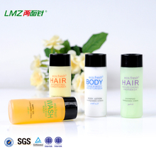 high quality Hotel hair care shampoo bottles