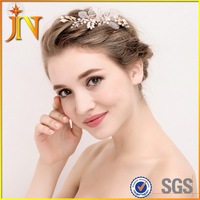 HB0043 JN hair ornaments wedding hair accessories Floral Headdress Romantic Lace Hairwear flower wedding bride hair accessories