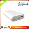 QC3.0 Power Bank Charger Custom Power Bank with TYPE C Port