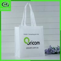 wholesale cheap eco folding reusable non woven tote zipper plastic shopping bag