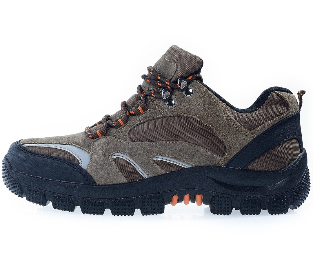 2015 Full Leather Adult Hiking Shoes Men Outdoor Man Hiking Shoes Men Shoes Outdoor Hiking Shoes