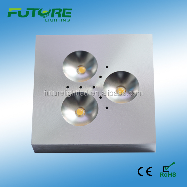 3W 12V dimmable cabinet puck led lighting CE,RoHS list