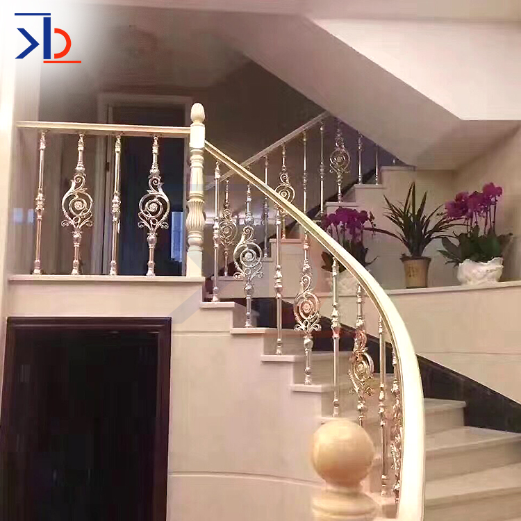 Metal Stair Handrail Baers For Rose Gold Railing 304 316 Stainless Steel Design Stairs