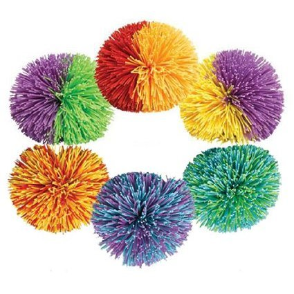 Koosh Ball- Colors May Vary- 2 Pack