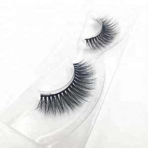 Top Quality 100% Real Thick private label synthetic hair eyelashes