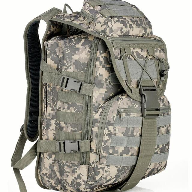 wholesale hot 600D durable waterproof oxford outdoor men women camouflage hiking overland tactical hunting backpack