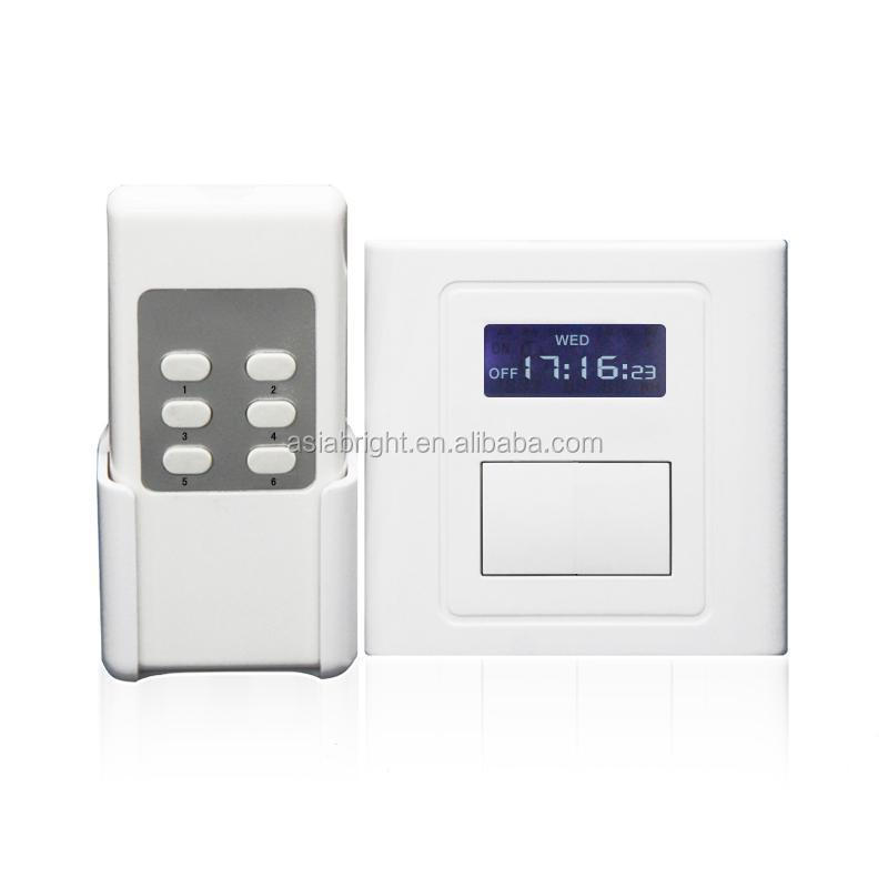 Delay time 1channel Remote Control Switch with Delay for 1 Loads the Fan remote control switch with long distance