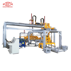 Low Investment Low Labor Hongfa Fully-automatic Electronic Hydraulic Block Stacker Machinery