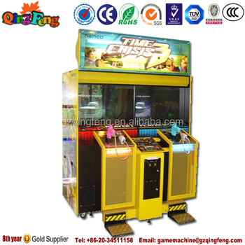 arcade machine shooting