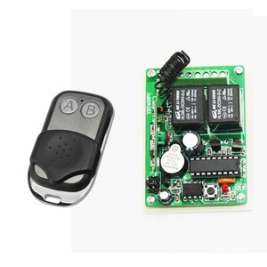 DC 12V 10A Relay 2Ch wireless RF Remote Control Switch Transmitter+ Receiver