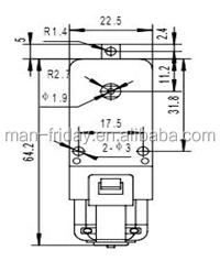 3-12V Latest Design Small DC Gear Motor For Robot 1:48 1:120