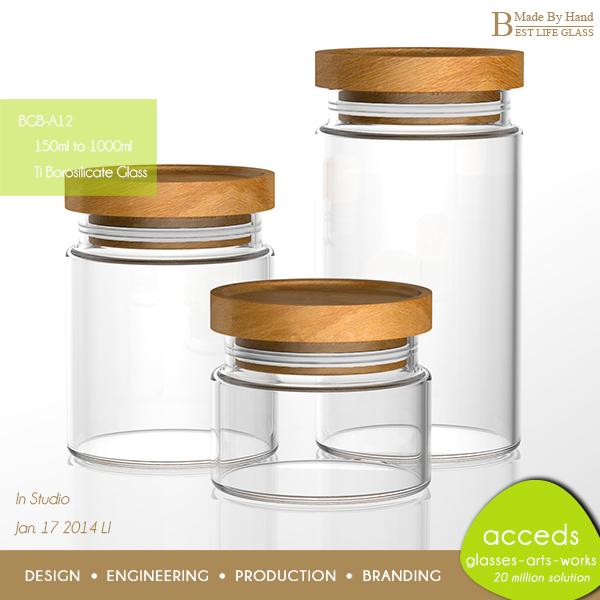 Decorative glass jar with lid images for Designer glass jars