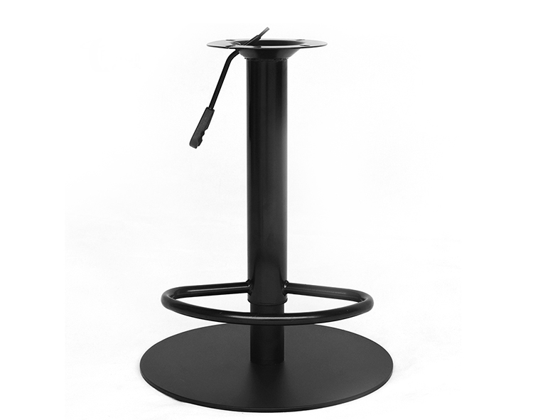 High Quality Black Metal Stainless Steel Swivel Lift Fashion Barstools