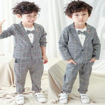 06bfdfd93 AiLe Rabbit 2018 3pcs fashion Baby boy Clothing Kids Clothes Infant Clothing  toddler wholesale boutique boys