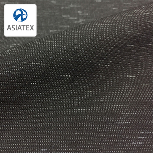 Cotton stretch fabric pigment effect yarn dye fabric cotton polyester spandex blend fabric for men trousers
