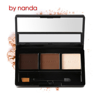 Makeup kits eyebrows powder 3 color offer customizing for private logo