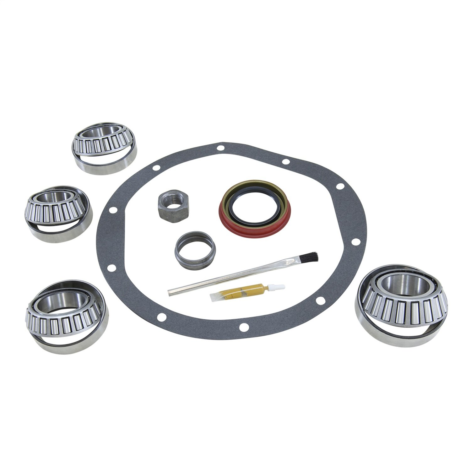 """Yukon (BK GM8.5-F) Bearing Installation Kit for GM 8.5"""" Front Differential"""