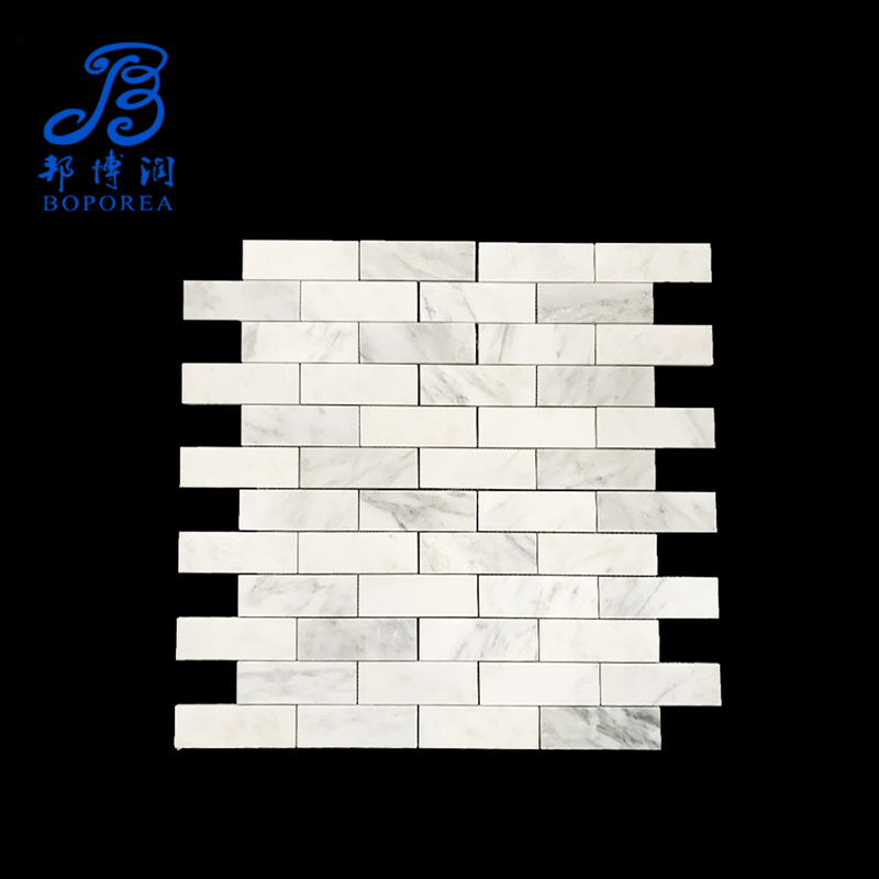 Artificial Marble Lamp Fish Scale Tile Bathroom Ceramic Diamond Glass Mosaic Tiling