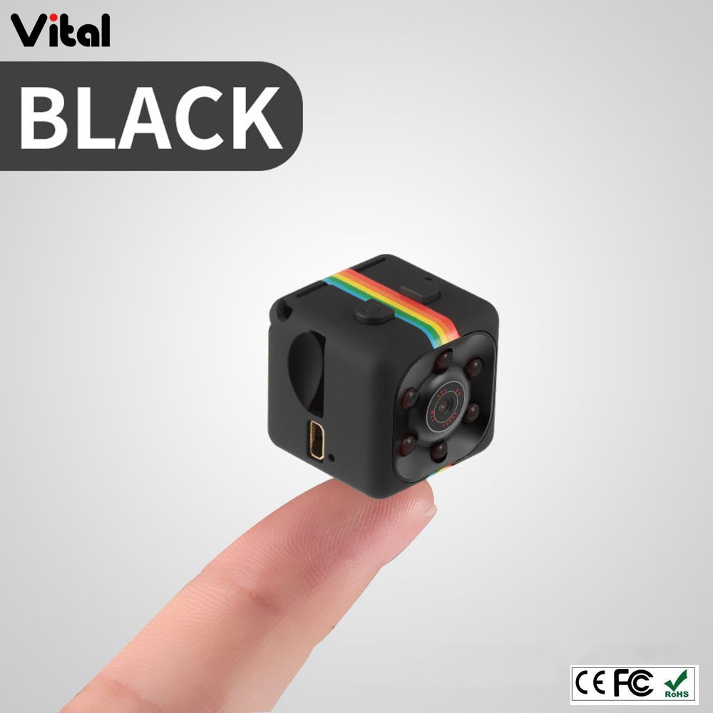 Cube Mini Spy Action Camera SQ11 Bewegingsdetectie 1080 P Hoge Resolutie Video-opname