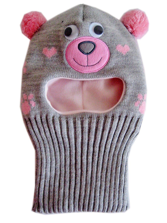 00e8765c0de53 Get Quotations · Frost Hats Warm Winter Hat Fleece Lined Balaclava for Kids  Ski Mask for Girls M-