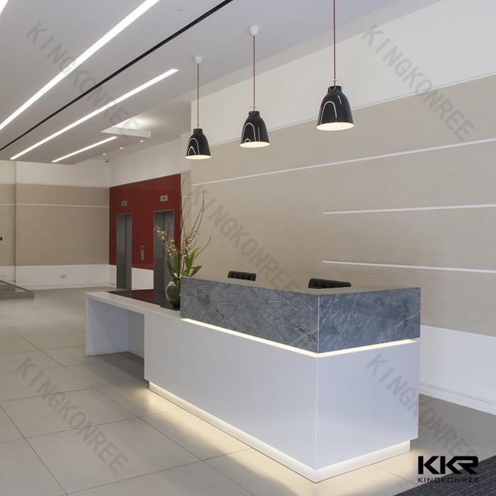 Acrylic Stone Hospital Reception Desk Size Buy Hospital