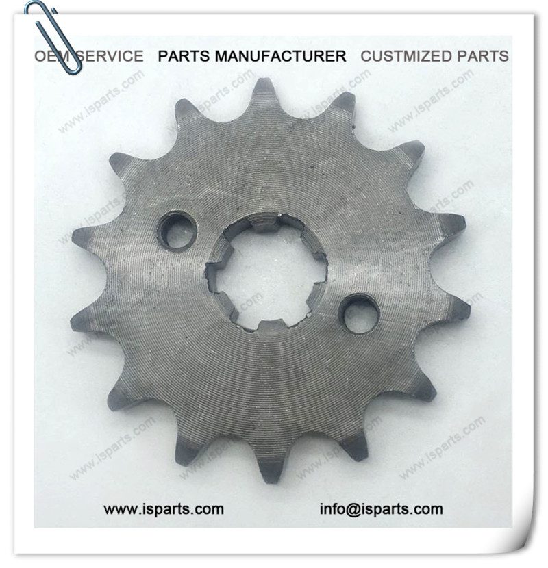 Factory Supply 14T Teeth 428 chain Drive Sprocket with 17mm Inner Hole