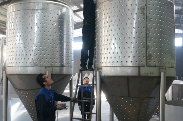 Large brewery brewing equipment 2000l/3000l with malt mill with CE make in china jinan