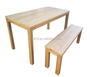 Stupendous W Df 0638 Ash Wood Dining Table Kitchen Table With 2 Benches Buy Table With 2 Benches Wood Rustic Dining Table Wood Dining Bench Product On Download Free Architecture Designs Rallybritishbridgeorg