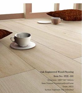 Factory Cheap Price Oak Engineered wood flooring-SY0045