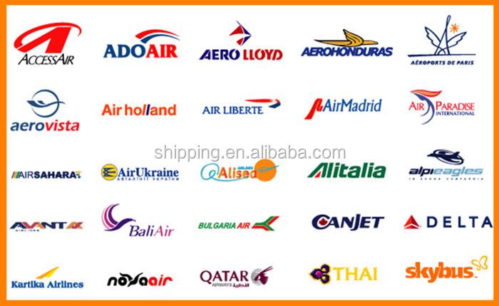 格安航空中国からボルティモア · 米国への貨物輸送コスト