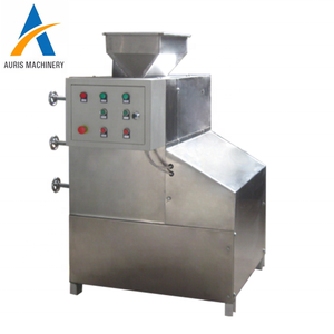 Peanut crushing and grading equipment Crushed peanut chooped nuts making grading machine