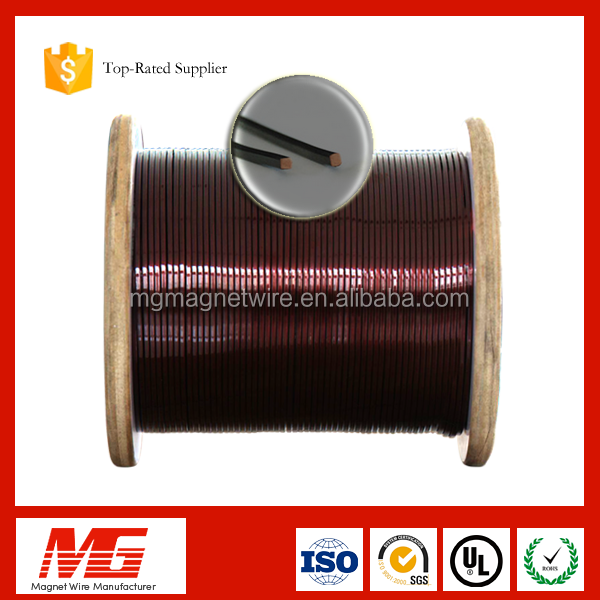UL Approved enameled square copper winding wire for motor