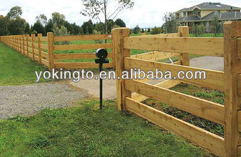 European Countries And American Style Wood Fence Buy