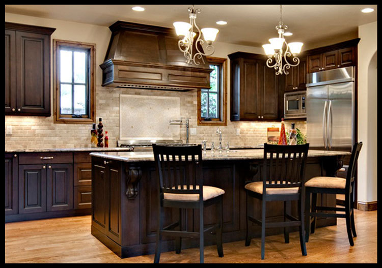 Modular Home China Solid Teak Wood Kitchen Cabinet Simple ...