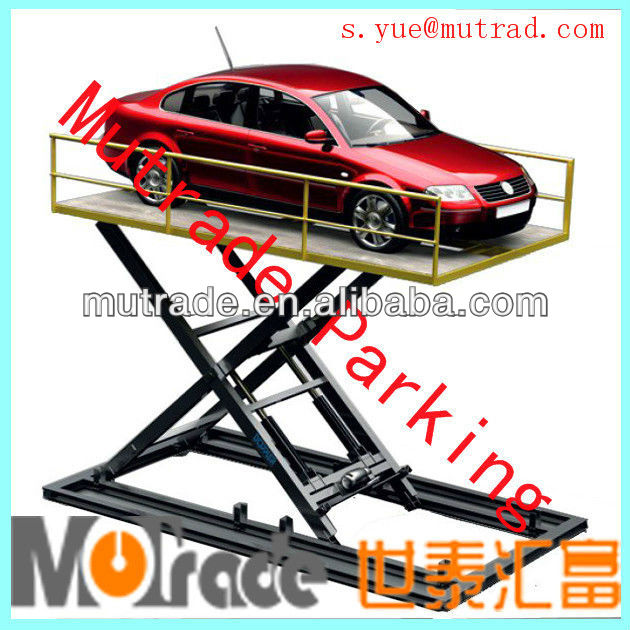 vertical lift hudraulic automotive scissor lift