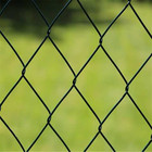 Galvanized /vinyl coated 6 feet chain link fence/chain link fabric( 20 Years Professional Factory )